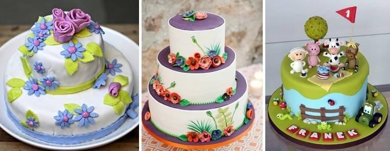 Как украсить детский торт в домашних условиях: рецепты с фото и видео