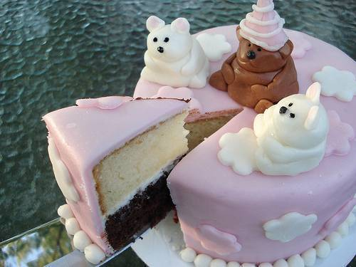 Украшения для торта из маршмеллоу