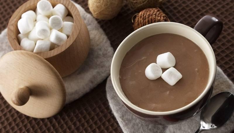Какао с маршмеллоу — американская классика